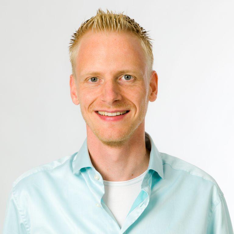 Portretfoto van Jeroen Vrijkorte